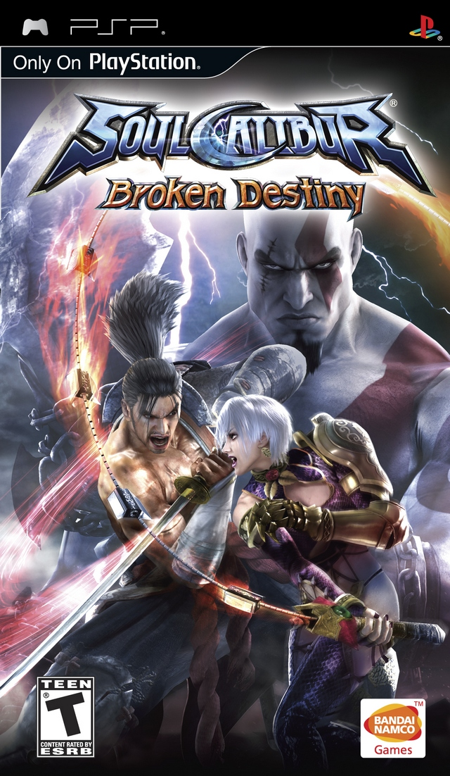 ROMs - Soul Calibur Broken Destiny - PSP Download