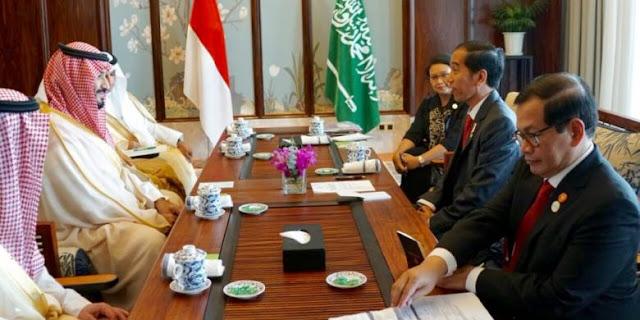 Bertemu Jokowi, Pemerintah Arab Saudi Ingin Lakukan Mega Investasi di Indonesia