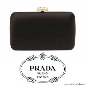 Kate Middleton carried PRADA Clutch