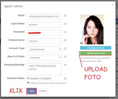 Cara Memasang Aplikasi Live Chat di Blog / Toko Online