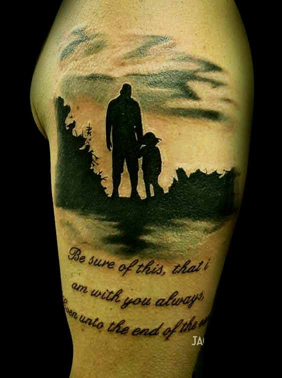father daughter tattoos quotes