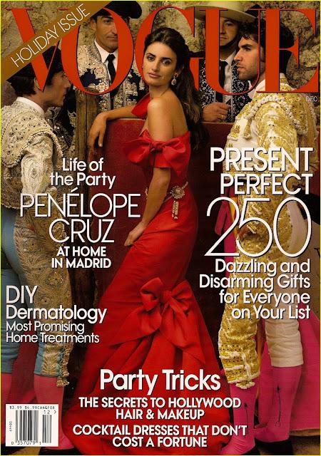 Penelope Cruz magazine shoot photos