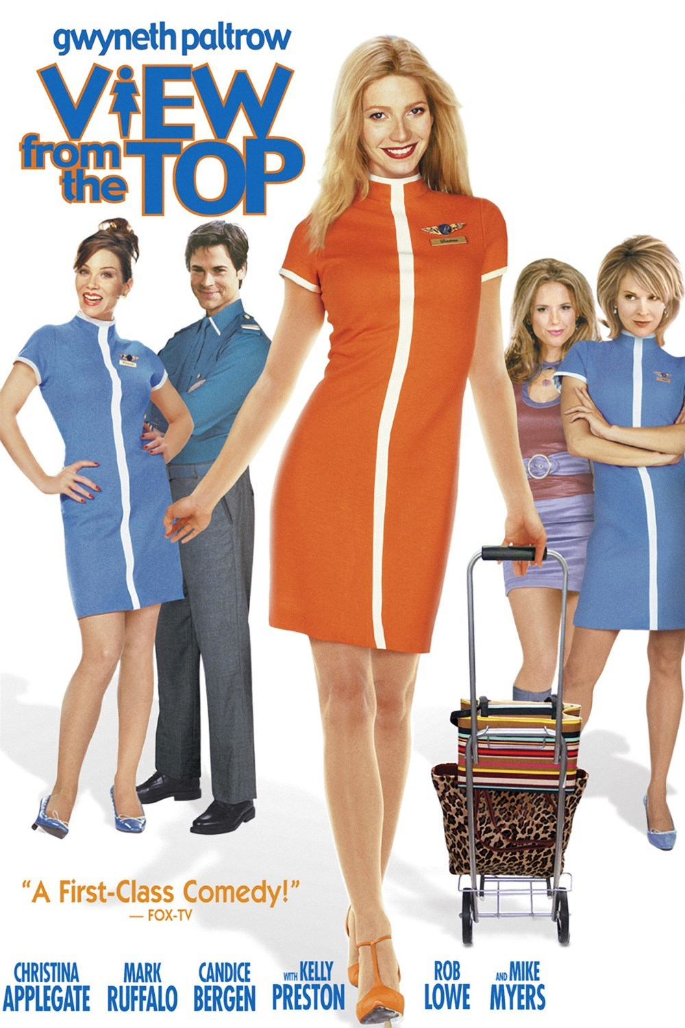 View from the Top (2003) Θέα από Ψηλά tainies online oipeirates