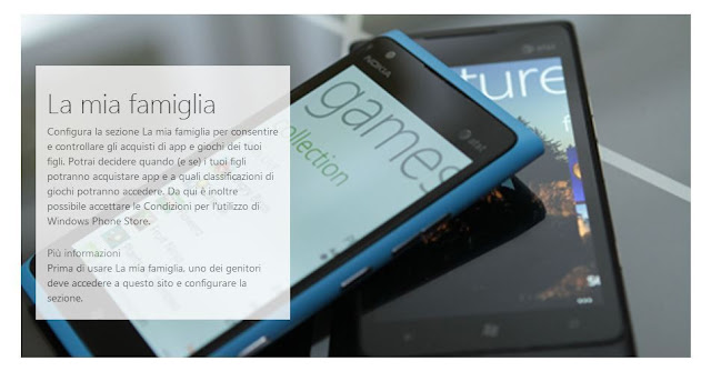 Domande frequenti su ''La mia famiglia'' - Windows Phone - Nokia Lumia
