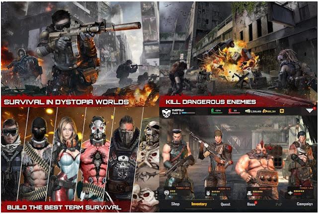Dead Warfare Zombie MOD v1.2.77 APK Unlimited Terbaru