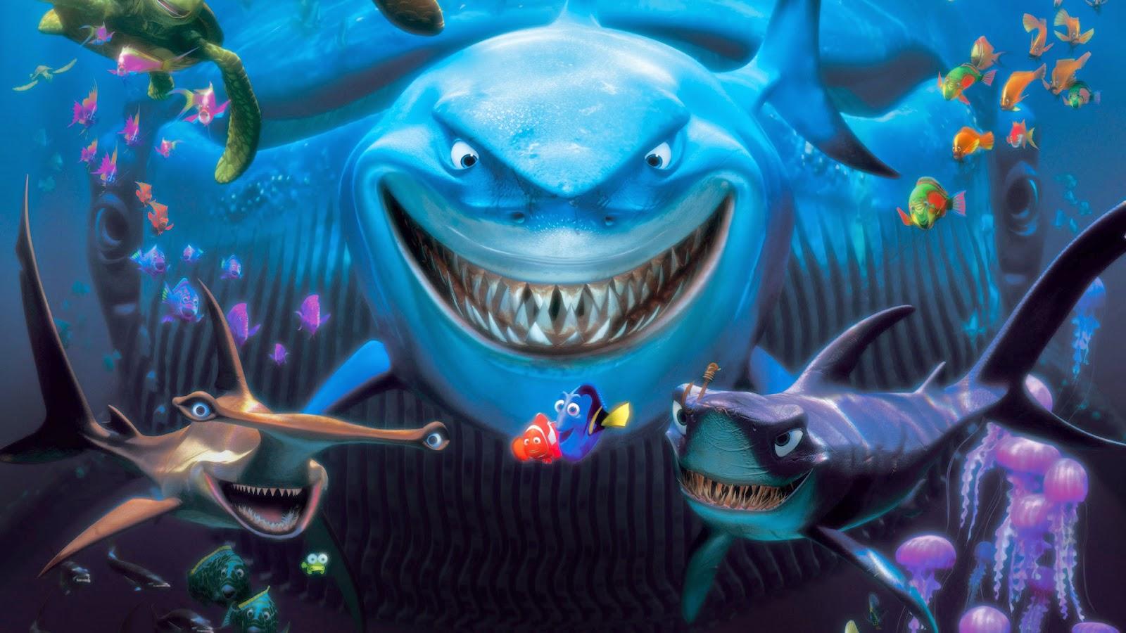 Finding Nemo D Animasi Hd Wallpaper: WALLPAPER ACTION: 5 Film Animasi Paling Populer Di Dunia