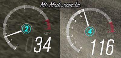 sa speedometer velocímetro gta sa