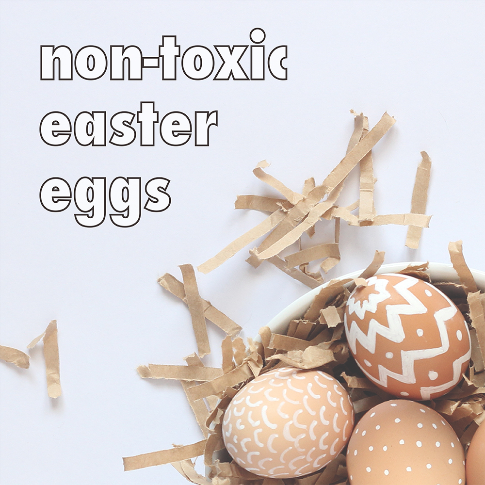 Non-toxic Easter egg decorating