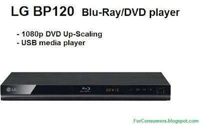 LG BP120 cheap Blu-Ray/DVD player