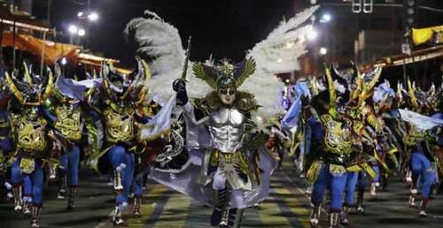 100 millones recaudará el Carnaval de Oruro