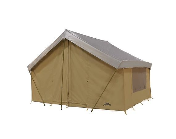 Army navy blog trek canvas tents for Wall tent floor