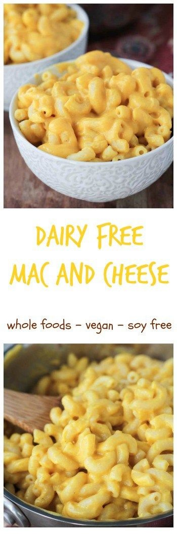Butternut Mac (Dairy Free, Soy Free, Vegan)