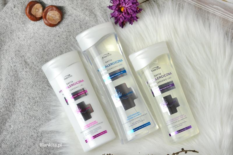 joanna szampon hypoalergiczny, joanna żel hypoalergiczny, joanna balsam hypoalegriczny