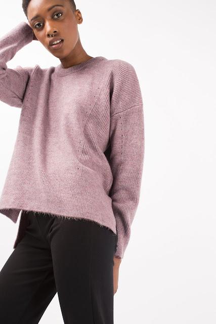 pink topshop jumper