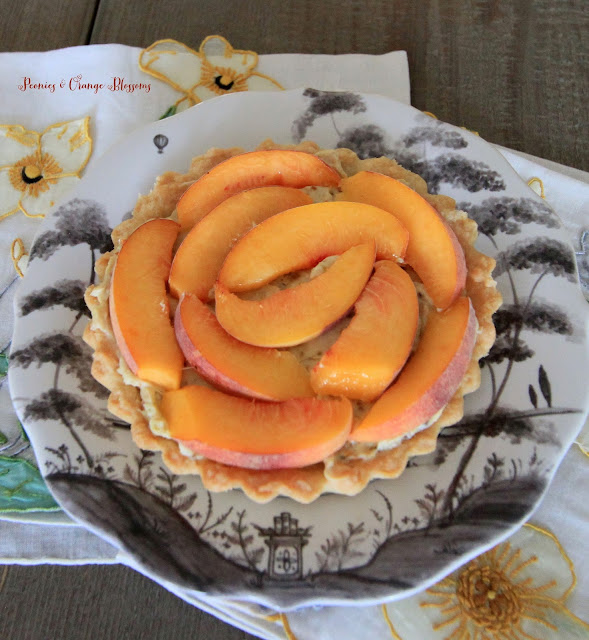 Peach Honey Tart