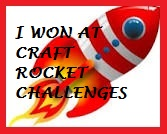 Winnaar challenge 33 Craft Rocket