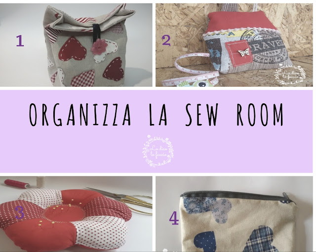 Organizza la sew room