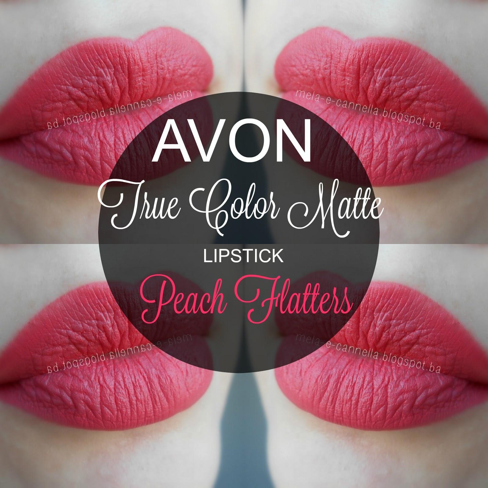 Mela-E-Cannella Avon True Color Matte Lipstick - Peach -6209