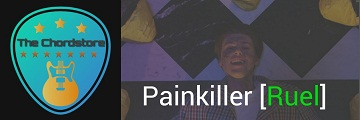 PAINKILLER Guitar Chords Accurate by | Ruel