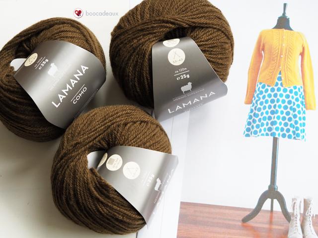 Rosa Pe Knit Along - Strickjacke mit Zopfmuster