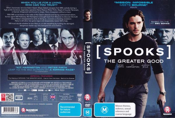 Spooks: The Greater Good – Latino, Inglés