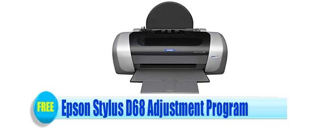 Epson Stylus D68 Adjustment Program