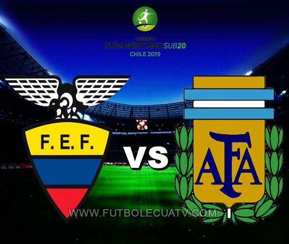 Ecuador choca ante Argentina en vivo 📺 desde las 15:10 horario de nuestro país a jugarse en el estadio Fiscal de Talca por la fecha tres Grupo B del Sudamericano Sub-20, teniendo como árbitro principal a mencionar luego con emisión de los canales autorizados GolTV y CNT Sports.