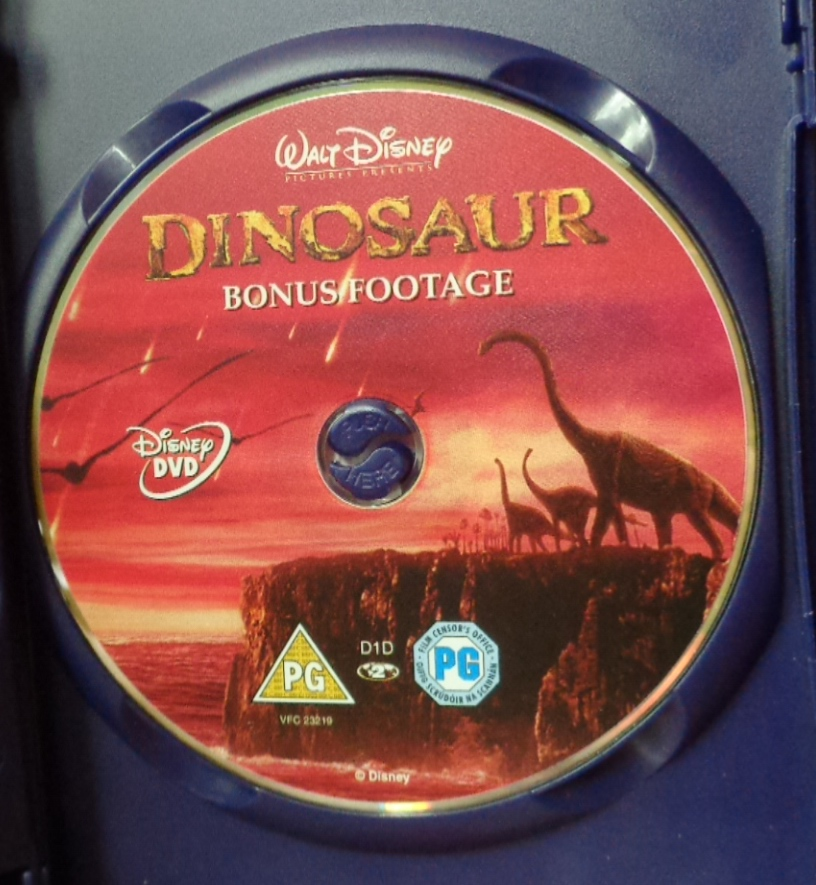 Movies On DVD And Blu-ray: Dinosaur (2000