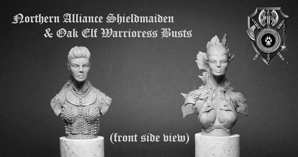 Tabletop Fix: Shieldwolf Miniatures - New Busts