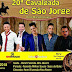20ª Cavalgada de São Jorge acontece 20 de abril em Dom Macedo Costa