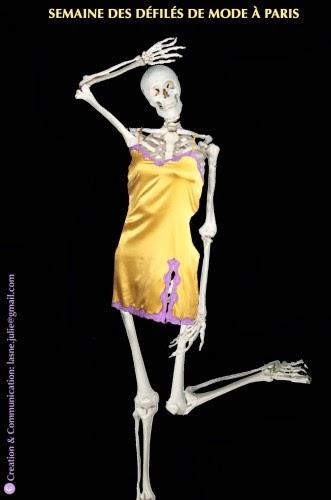 Anorexie : les victimes de la mode - mort - squelette de mannequin
