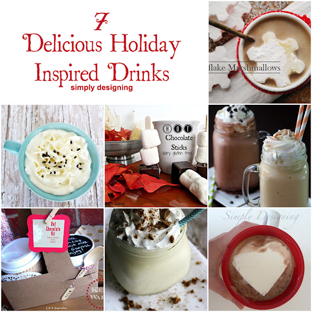 7 Delicious Holiday-Inspired Drinks | #drinks #recipes #winter #holiday