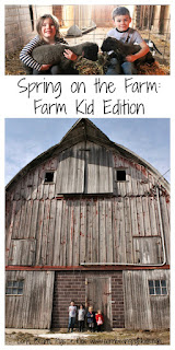 Spring on the Farm:  Farm Kid Edition #SpringatTheisens #sponsored