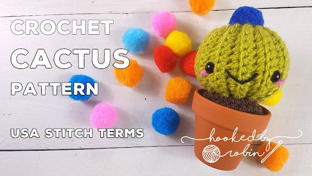 Free crochet cactus pattern