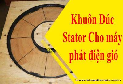 Khuôn Đúc Stator Cho máy phát điện gió