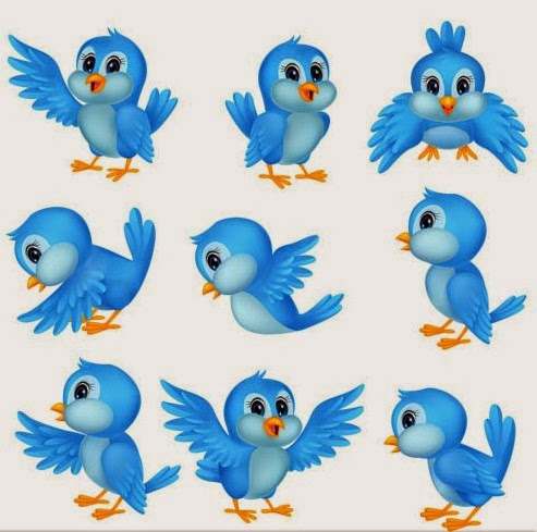 Twitter Icons Free Vector