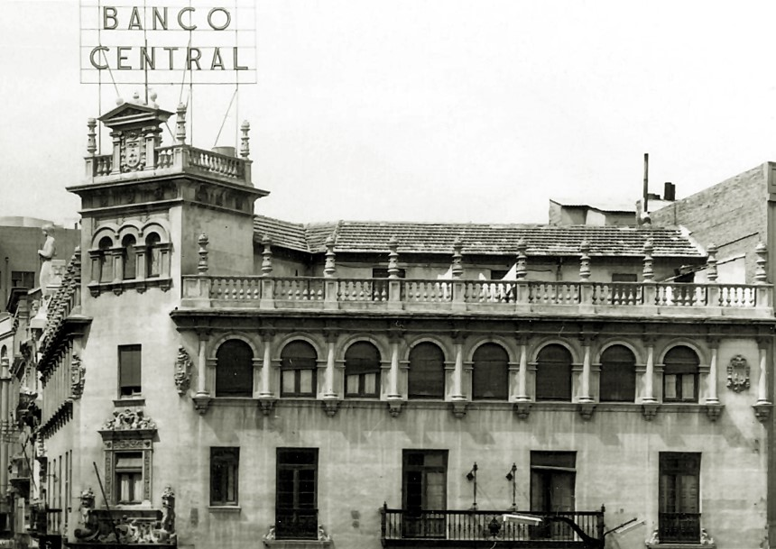 FOTOS CON HISTORIA: EL BANCO CENTRAL