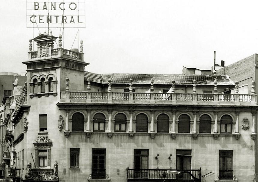 FOTOS CON HISTORIA: EL BANCO CENTRAL