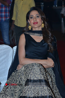 Actress Pragya Jaiswal Stills in Black Dress at Om Namo Venkatesaya Audio Launch Event  0016.JPG