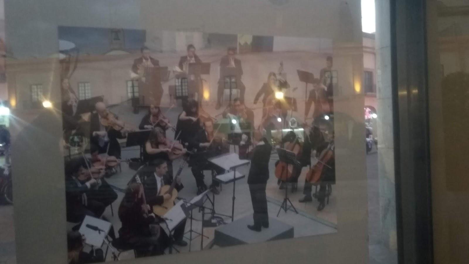 Exposición Orquesta Filarmónica de Toluca