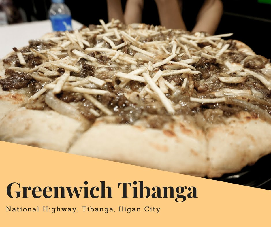 Greenwich Cheesy Steak & Fries Pizza