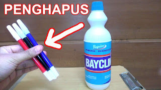spidol non permanen lebih sering digunakan karena dapat dengan mudah dihapus 3 Cara Menghapus Spidol Permanen Di Permukaan Plastik