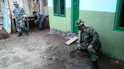 Rehab RTLH Rampung, Satgas Bersih-Bersih