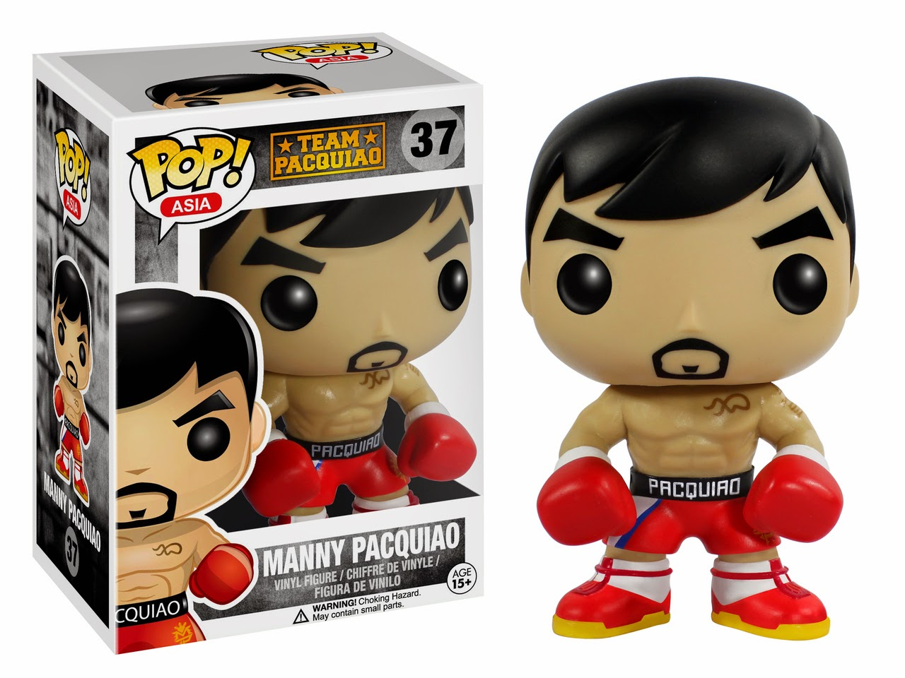 Manny Pacquiao Funko POP! Vinyl Figure glam shot