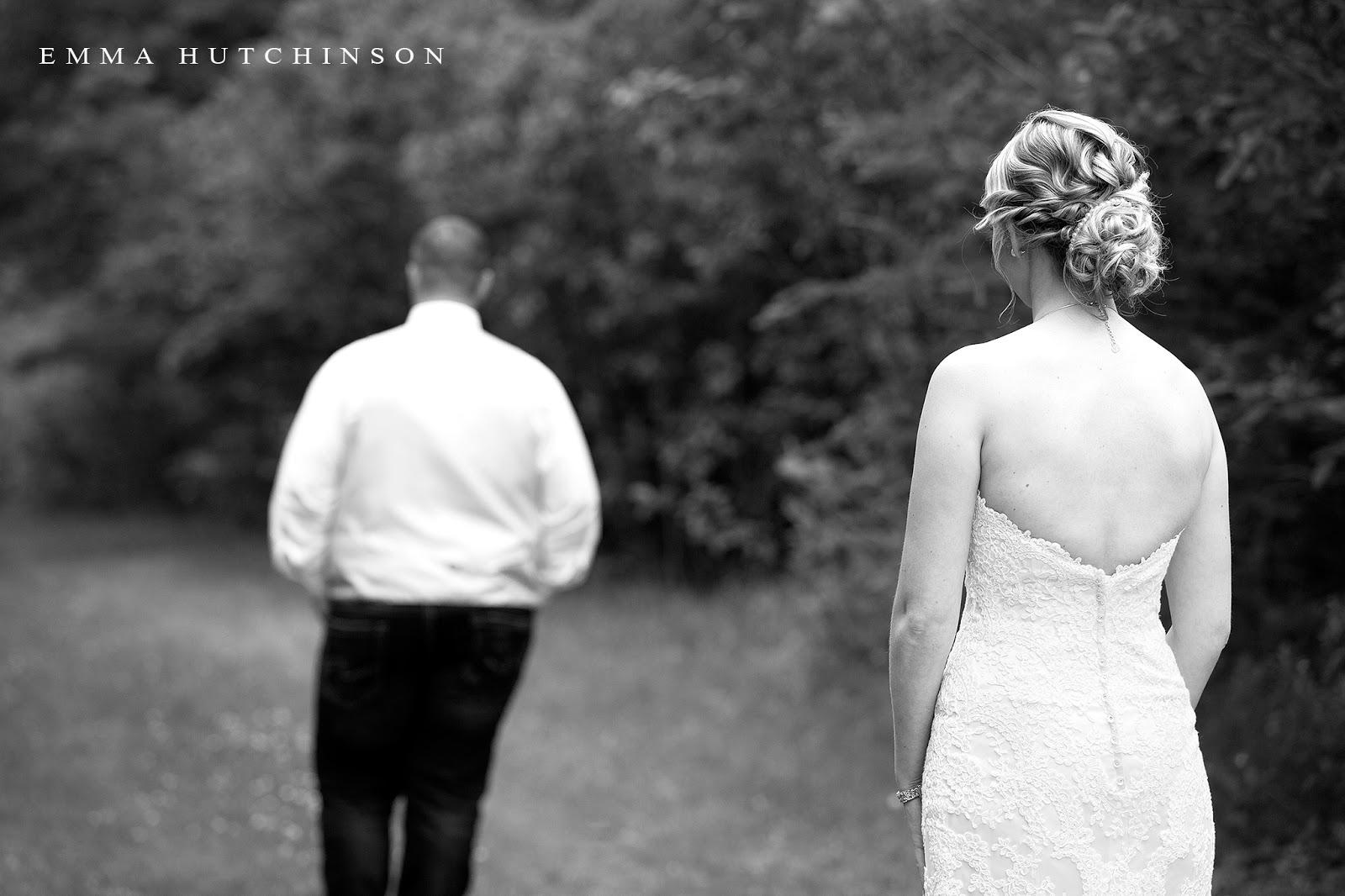 Newfoundland backyard wedding - first look