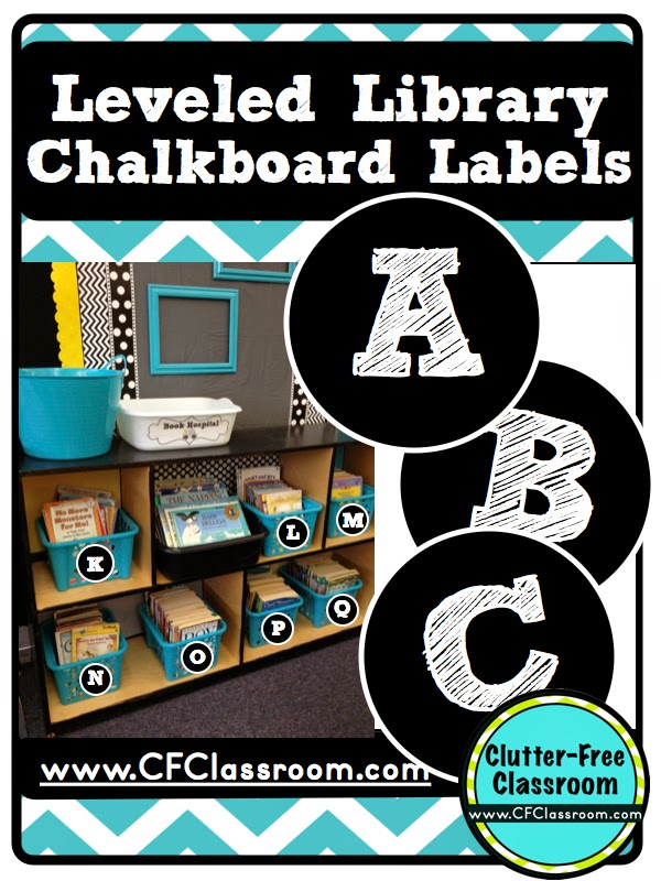 How to Organize Your Leveled Library for Guided Reading Clutter