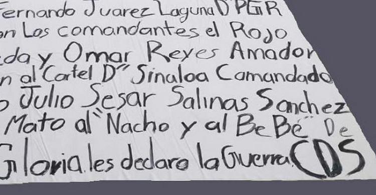 "Cartel ""Los Gloria"" le declaran la guerra al Cartel de Sinaloa en Aguascalientes."