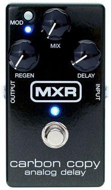 MXR M169 Carbon Copy Analog Delay Pedal Analógico