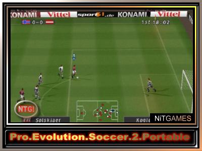 Download - Pro Evolution Soccer 2 Portable NTG 28MB