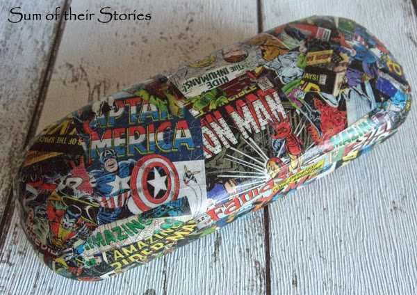 Make a glasses case for the Comic Book lover in your life